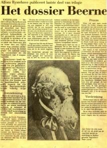 Moorden van Beernem krant JvDC 1986 a
