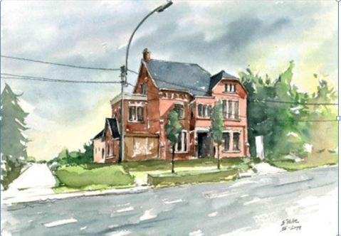 Villa Maria Ursel (Erik Wille), een van de onderwerpen in het tweede nummer van Erfgoed Aalter